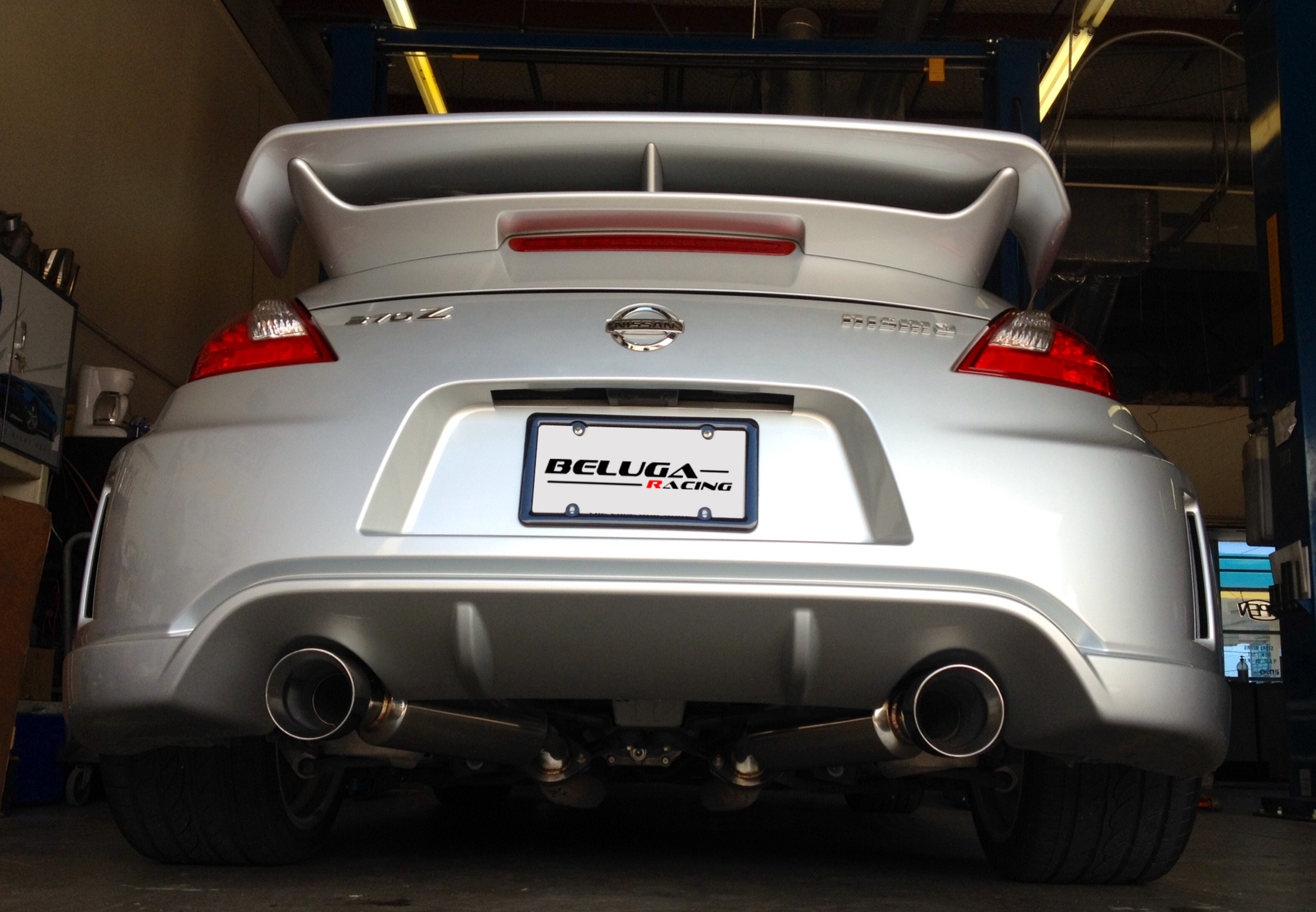 Beluga Racing Performance Axle Back Axleback Exhaust for 370Z Nismo 09-17  3 7L
