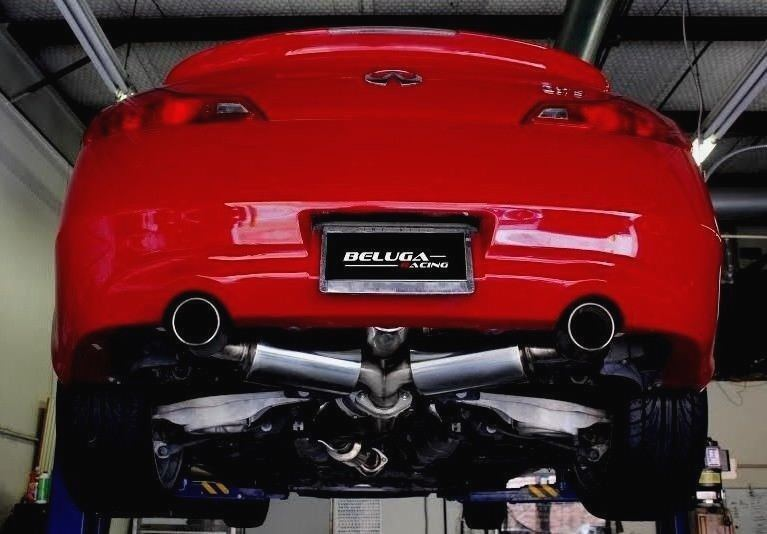 Beluga Racing Performance Resonated Exhaust For Infiniti Q60 Vq37vhr